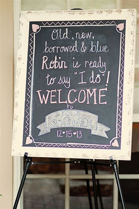 s in ideas bridal shower sign ideas