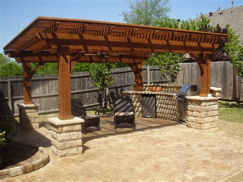 Pergola Designs For Patios Stonework Patios Arbors Pergolas Outdoor Living