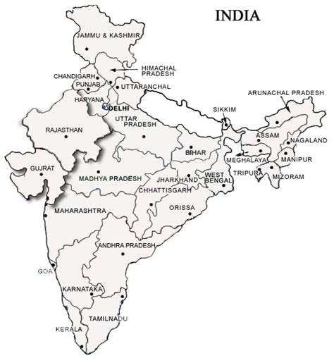 coloring pages of india map nac registration