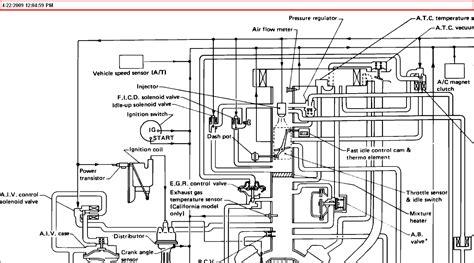 i need a vacuum diagram for an 1989 jeep larado 1989 nissan truck v6 automatic transmission i need a