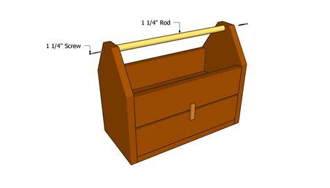 tool box plans myoutdoorplans  woodworking