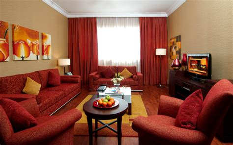 rooms with red couches great arabic living room with red sofa and yellow walls