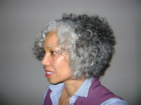 hairstyles for natural grey hair naturally beautiful hair link of the day gorgeous teruko