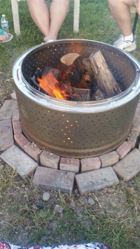 diy pit dryer drum dryer drum pit drill holes put part in the ground