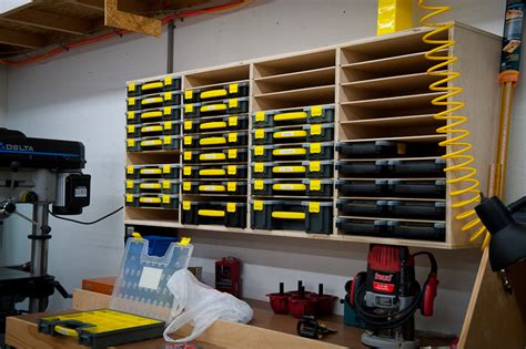 Garage Hardware Storage Ideas Small Parts Storage Great Diy Solution Similar To
