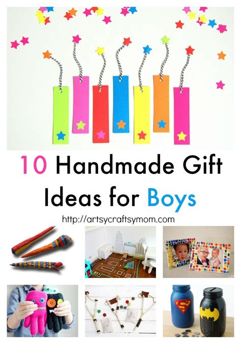 10 handmade gift ideas for boys artsy craftsy