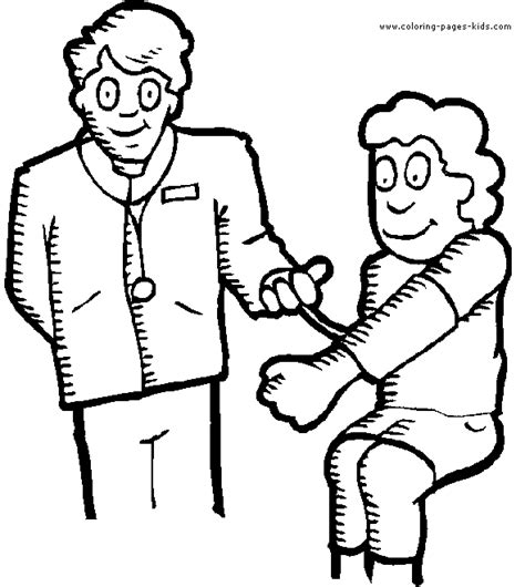 printable doctor coloring page free coloring pages printable doctors coloring pages