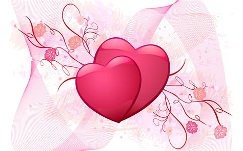 valentines day status lms hearts and flowers wallpaper