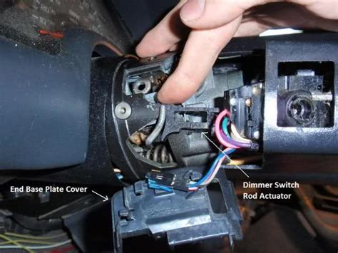 2008 impala door lock teardown steering column disassembly removal with pics ls1tech