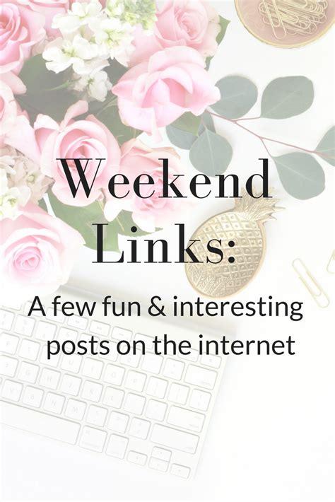 Weekend Links Egotastic 4 by Weekend Links Yet Trendy