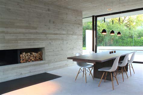 camino prefabbricato grezzo einfamilienhaus in braunschweig querum beton wohnen