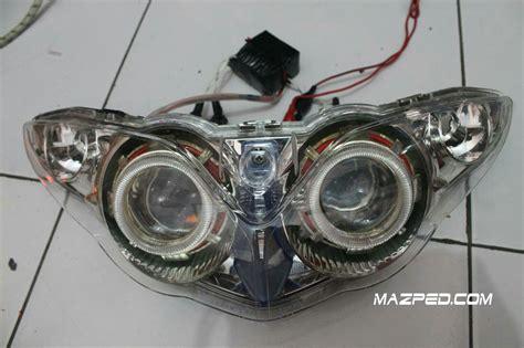 Lu Led Buat Motor Jupiter Z modif kelistrikan mazped
