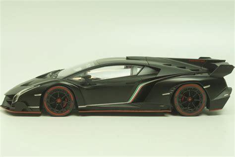 Kyosho Scale 1 43 Lamborghini Veneno Black Y1103 kyosho scale 1 18 lamborghini veneno 2014 matte black catawiki