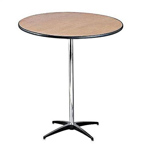 30 quot adjustable cocktail banquet table bar