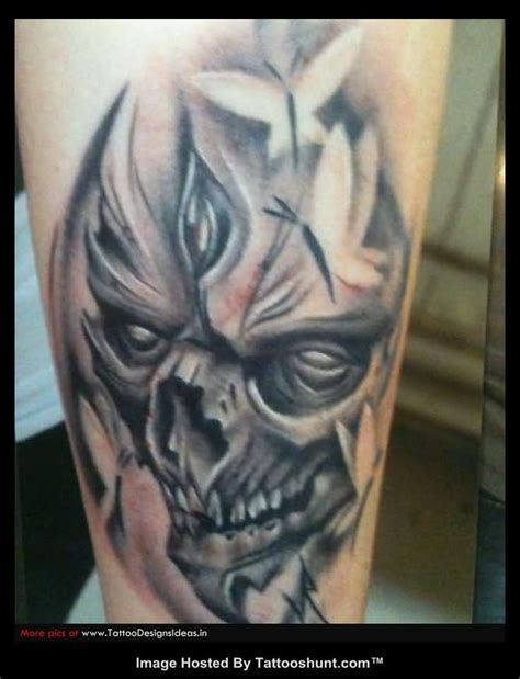 evil skull tattoos tattoos and designs page 234