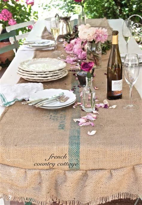 french country table runner rustic table runner french country cottage