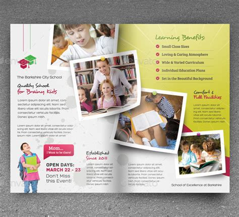 best flyer design 18 best academic flyer templates designs free
