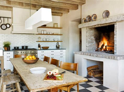 kitchen fireplace designs 15 cottage kitchens diy