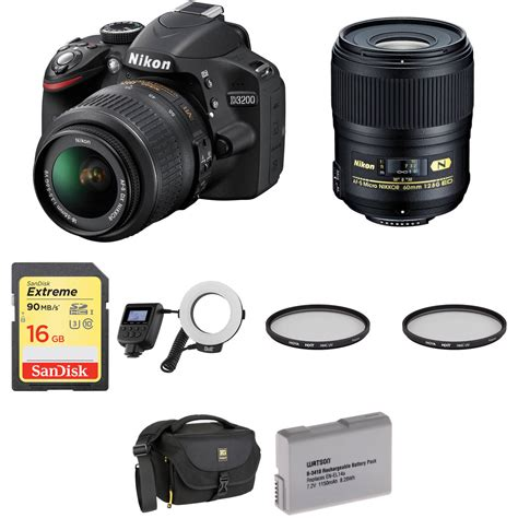 dslr nikon d3200 nikon d3200 dslr dental kit b h photo