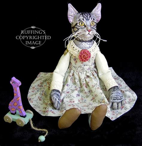cat purple giraffe quot catarina and harold quot original one of a maine coon