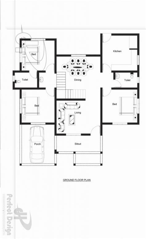 Small Three Bedroom House Plans one storey house design with roof must see this homes in
