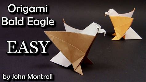origami eagle easy for yakomoga origami easy