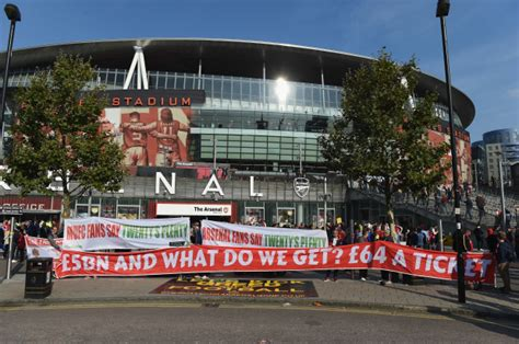 arsenal away tickets arsenal news fans to pay lowest away ticket prices in