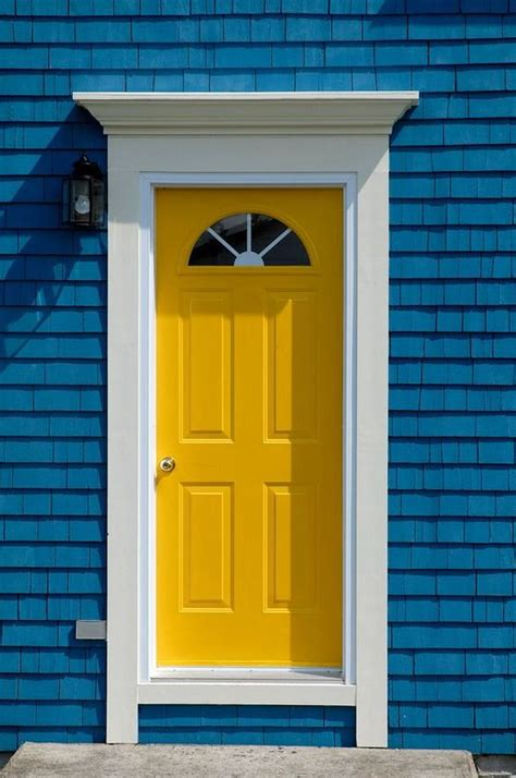 Yellow Front Door Yellow Front Door Outdoor