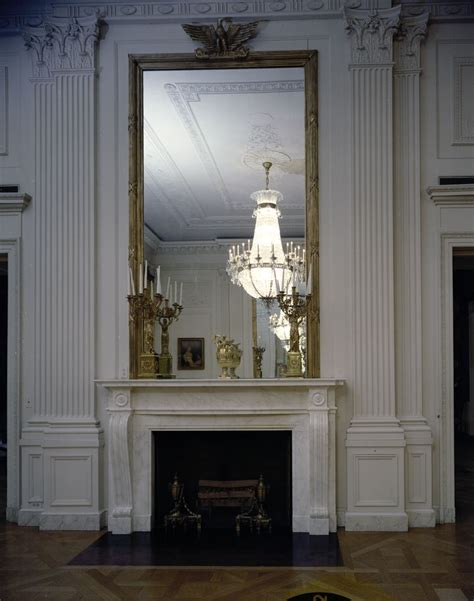 the east room kn c21636 east room fireplace white house f kennedy presidential library museum