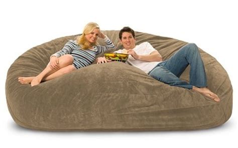 lovesac the big one 8 foot lovesac big one foam bag making a house a home