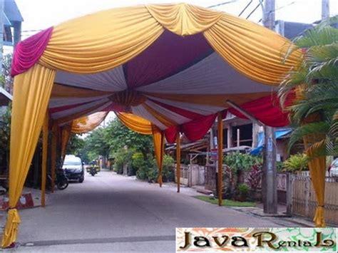 Sewa Tenda Hajatan sewa tenda canopy sewa tenda pernikahan dekorasi plafon canopy kerucut rigging roder