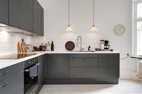 deco cuisine blanche et grise cuisine moderne grise et blanche