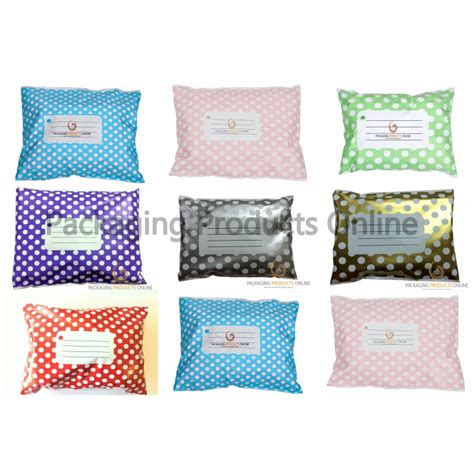 Wrap Buble Wrap 1m 1 25m printed mailing bags polka dot packaging products