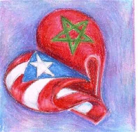 marruecos y puerto rico drawing by judith correa