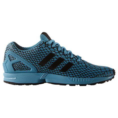 blue adidas zx flux techfit casual shoes sale 44 blue adidas casual shoes