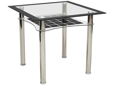 square black dining table metal black glass square dining table ebay