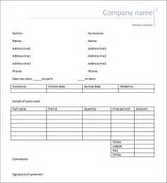 labor invoice template free service invoice 28 documents in pdf word