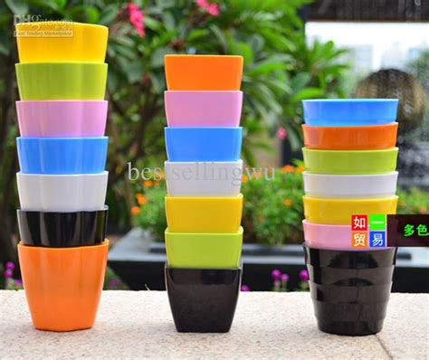 Planters On Line by 2017 Plastic Planters Balcony Gardening Mini Colored