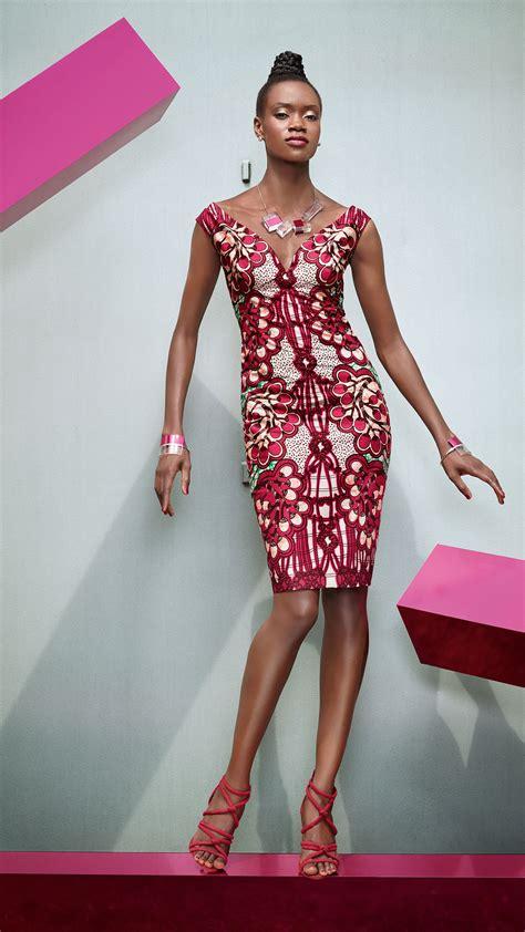 Modèle Tissu Africain