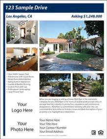 House For Sale Spec Sheet Template by Free Real Estate Flyer And Postcard Templates Real Estate