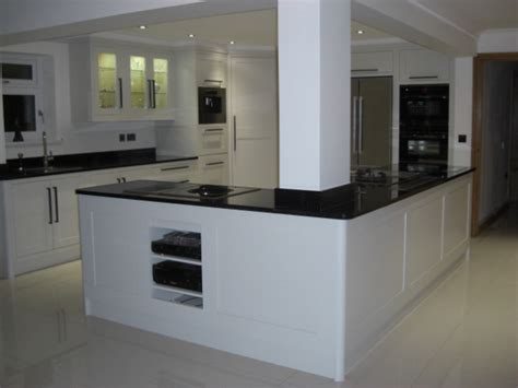 kitchen islands with pillars another one kitchens and modern classic kitchen in aberdare celtica kitchens