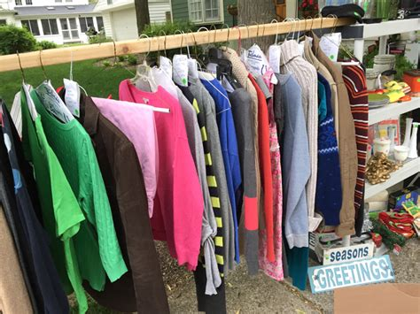yard sale tips tricks how we made 1549 yard sale