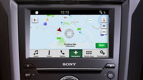 Ford Navigation by Ford Sync 3 220 Berblick Navigation