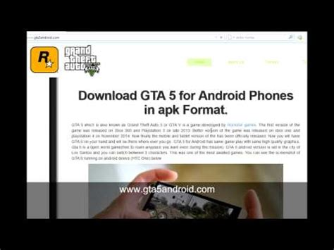 gta 5 for android phones in apk format mobile phone portal - Format Sd Apk