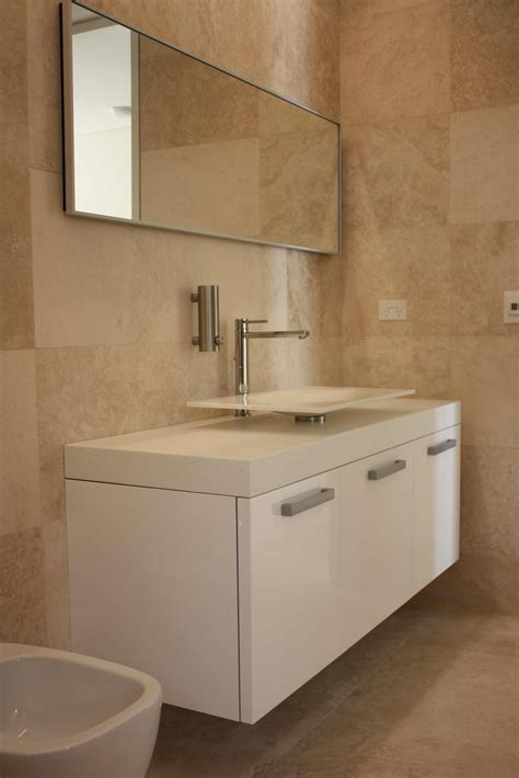 of in bathroom minosa travertine bathrooms the natural choice modern