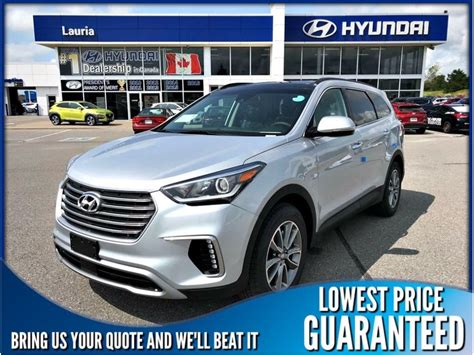 2019 Hyundai 8 Passenger by New 2019 Hyundai Santa Fe Xl V6 Awd Luxury 6 Passenger