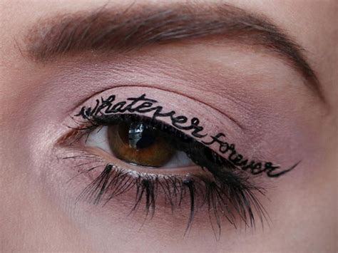 tattooed eyeliner temporary eyeliner www imgkid the image kid