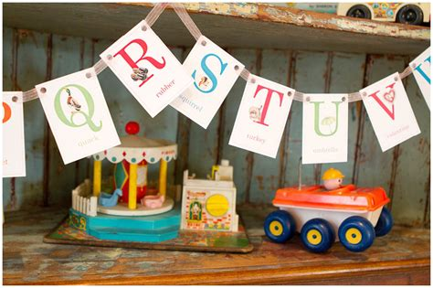 vintage themed birthday party vintage school themed 1st birthday party pizzazzerie