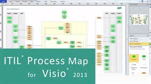 itil process map for visio 2010 visio 2013