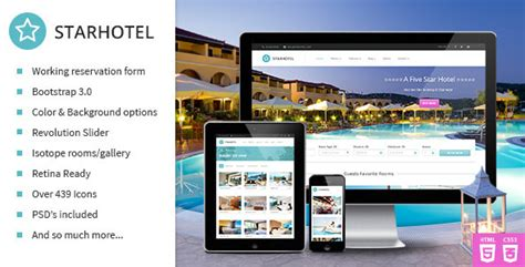 bootstrap templates for hotel booking free download 20 best html responsive booking templates for travel